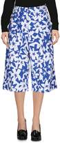 Jil Sander Navy 3/4-length shorts