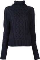 Mary Katrantzou roll neck sweater