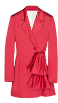 Peter Pilotto Stretch Satin Blazer Dress