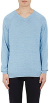 Vince MEN'S COTTON V-NECK SWEATER