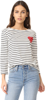 Chinti and Parker Heart Breton Tee