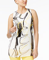 Alfani Printed Tunic Blouse, Only at Macy's