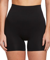Yummie Women's Underwear Black - Black Moderate Control Seamless Shaping Shorts - Women & Plus