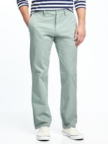 Old Navy Built-In Flex Ultimate Straight Khakis for Men