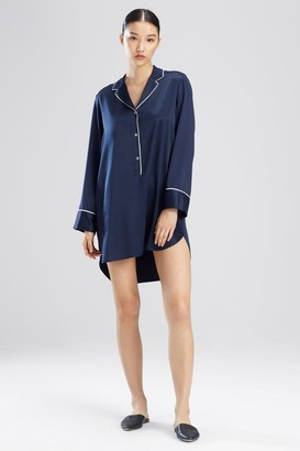 Natori Feathers Satin Essentials Sleepshirt
