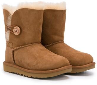 Ugg Kids Shearling Lining Boots