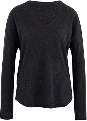 Majestic Filatures Top with sleeves, in cotton and cashmere