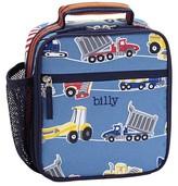 Pottery Barn Kids Classic Lunch Bag, Mackenzie Blue Construction