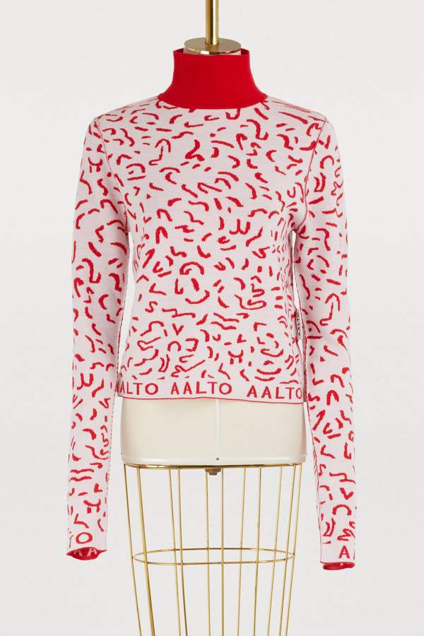 Aalto Memphis turtleneck sweater