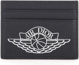 Christian Dior Air Jordan Card Holder Leather