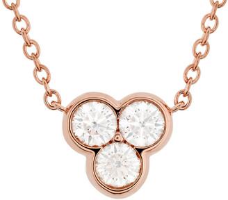 Hearts On Fire 18K Rose Gold 0.33 Ct. Tw. Diamond Effervescence Pendant Necklace