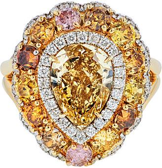Diana M Fine Jewelry 18K 5.97 Ct. Tw. Diamond Ring