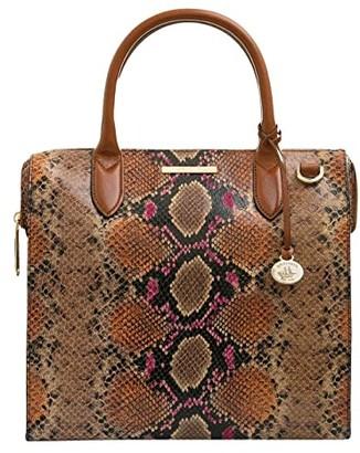 Brahmin Tangelo Caroline Satchel (Marmalade) Handbags