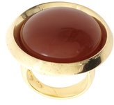 House of Harlow 1960 14ct Gold Plated Carnelian Ring