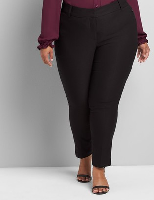 Lane Bryant Deluxe Fit Low-Rise Ankle Allie Pant