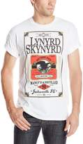 FEA Men's Lynyrd Skynyrd Logo Label T-Shirt