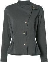 Isabel Marant collar-buckle blazer - women - Cotton/Spandex/Elastane - 36
