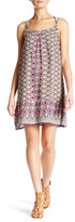 Angie Twin Print Strappy Back Dress
