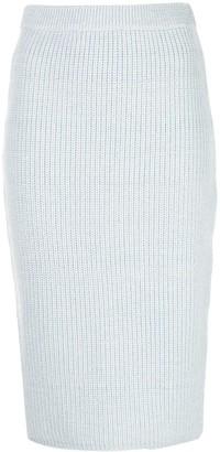 Adam Lippes Knit Pencil Skirt