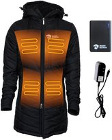 Dragon Optical Delphyne Womens 5 Zone Heated Puffer Jacket