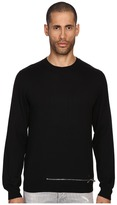 DSQUARED2 Wool Pullover with Zipper Men's Sweater