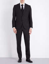 HUGO BOSS Slim-fit wool and silk-blend suit