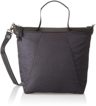 Borbonese Hobo Con T Womens Cross-Body Bag