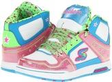 Skechers Endorse - Spenders 80851L (Little Kid/Big Kid) (White Smooth/Multi Trim) - Footwear