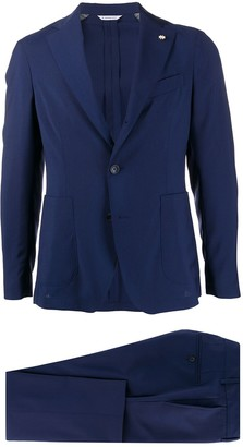 Manuel Ritz Formal Single Breasted Suit