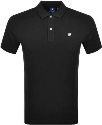G Star Raw Dunda Polo T Shirt Black