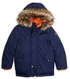 Ralph Lauren Polo Boys' Boys' Hooded Down Parka - Little Kid