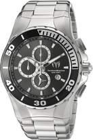 Technomarine Men's 'Manta' Quartz Stainless Steel Automatic Watch, Silver-Toned (Model: TM-215043)