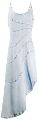Just Cavalli panelled denim dress