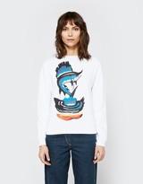 J.W.Anderson Sweatshirt w/ Marlin