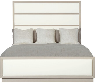 Bernhardt Axiom Upholstered Panel Queen Bed