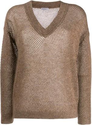 Brunello Cucinelli V-neck pullover