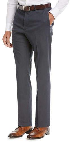 Incotex Benn Standard-Fit Stretch Cotton/Silk Pants
