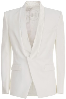 Balmain Pointed Collar Blazer