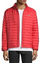 Lacoste Lightweight Quilted Down Jacket, Red
