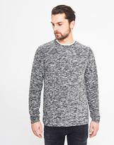 Selected Amborg Crew Neck Sweatshirt Black