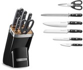 KitchenAid 7-Piece Professional Knife Set, Onyx Black