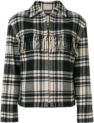 Polo Ralph Lauren fringe jacket