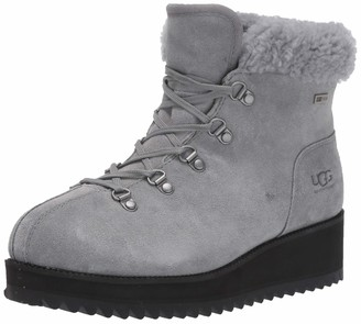 UGG Women's W Birch LACE-UP Shearling Ankle Boots