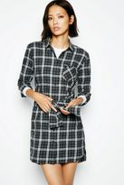 Jack Wills Dress - Brantingham Check Shirt