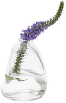 Hand-Blown Bud Vase - Clear