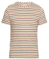 Oliver Spencer Breton-striped Cotton-jersey T-shirt