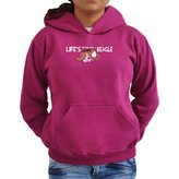 Eddany Life's better with a Beagle Women Hoodie