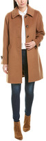 Trina Turk Trina Trina By Lauren Long Wool-Blend Coat