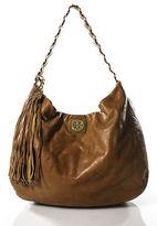 Tory Burch Cognac Leather Louiisa Hobo Handbag