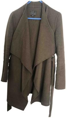 Hotel Particulier Khaki Wool Coats